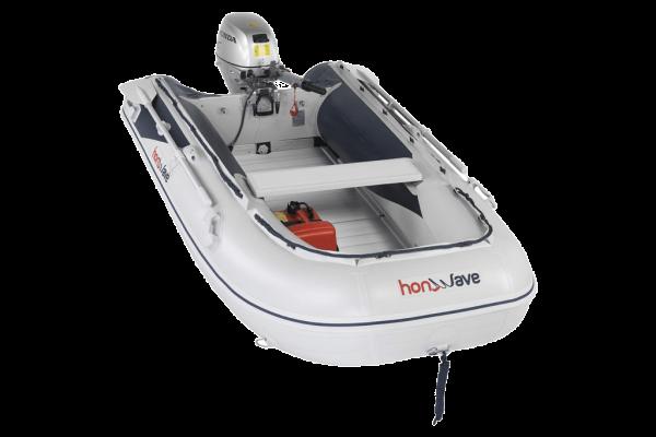 Honwave t30-ae2 Aluminiumbodem rubberboot
